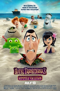 Poster of Hotel Transylvania 3: Summer Vacation 3D