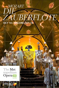 Poster of The Metropolitan Opera: Die Zauberflo...