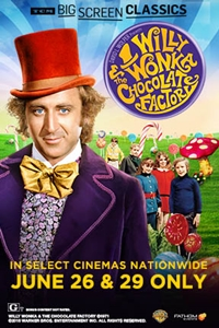 Poster for Willy Wonka and the Chocolate Factory (1971) presented by TCM