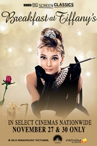 Breakfast at Tiffanys (1961) presented by TCM