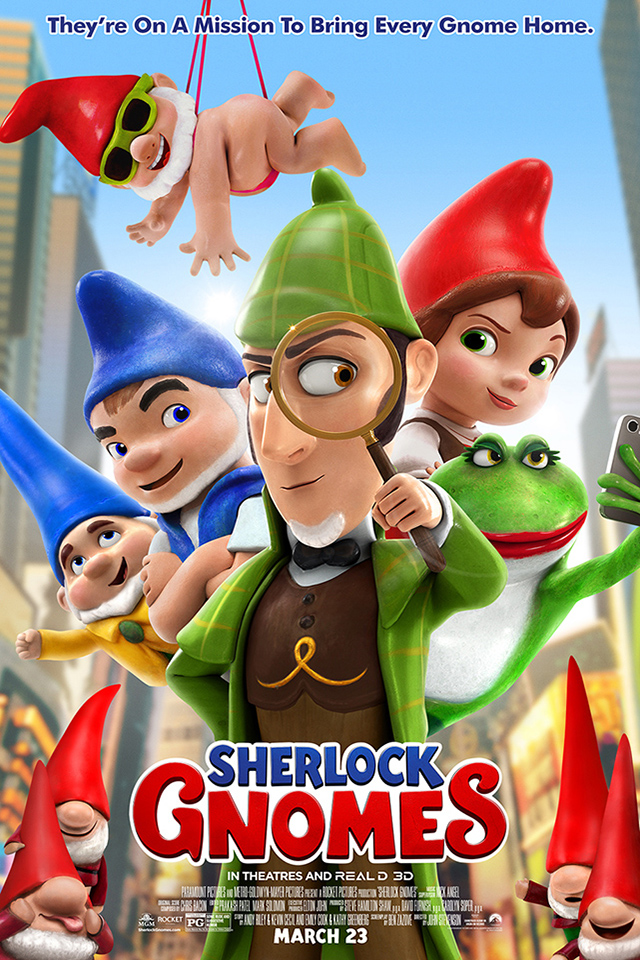 Poster for Sherlock Gnomes