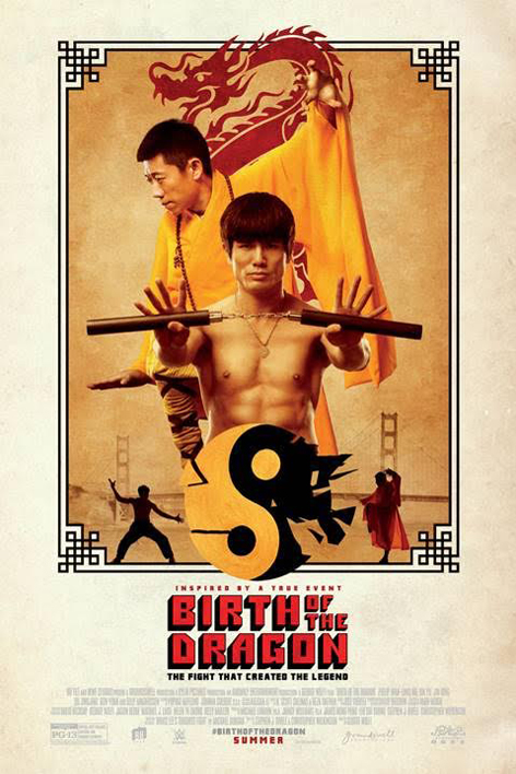 Poster for Birth of the Dragon