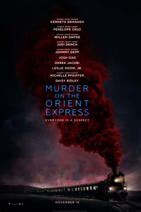 Poster for Murder on the Orient Express