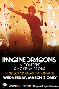Imagine Dragons: Smoke + Mirrors Concert