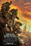 Teenage Mutant Ninja Turtles: Out of the Shadows 3D Poster