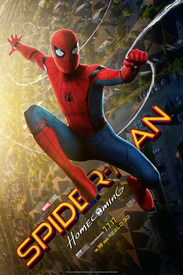Poster for Spider-Man: Homecoming