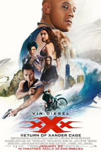 Poster for xXx: The Return of Xander Cage
