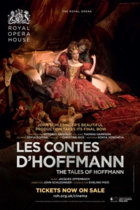 The Royal Opera House: Les Contes d'Hoffmann Poster