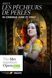 Poster of Met Summer Encore Opera: Les Pêcheurs de Perles