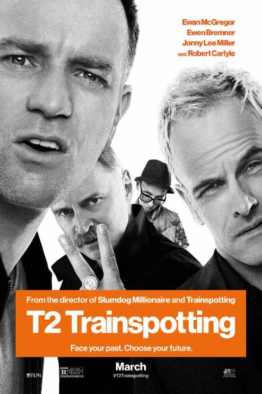 Poster for T2 Trainspotting
