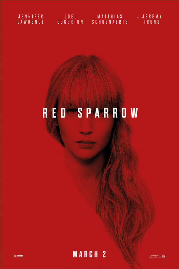 Poster ofRed Sparrow