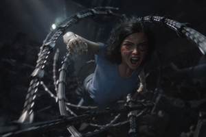 Alita: Battle Angel cast photo