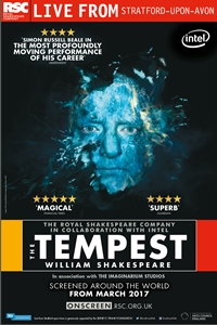 Royal Shakespeare Company: The Tempest Poster
