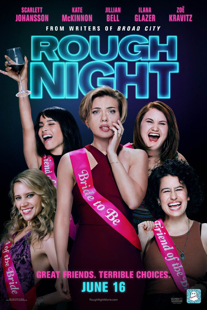 Poster of Rough Night