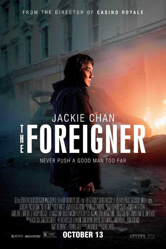Poster for The Foreigner