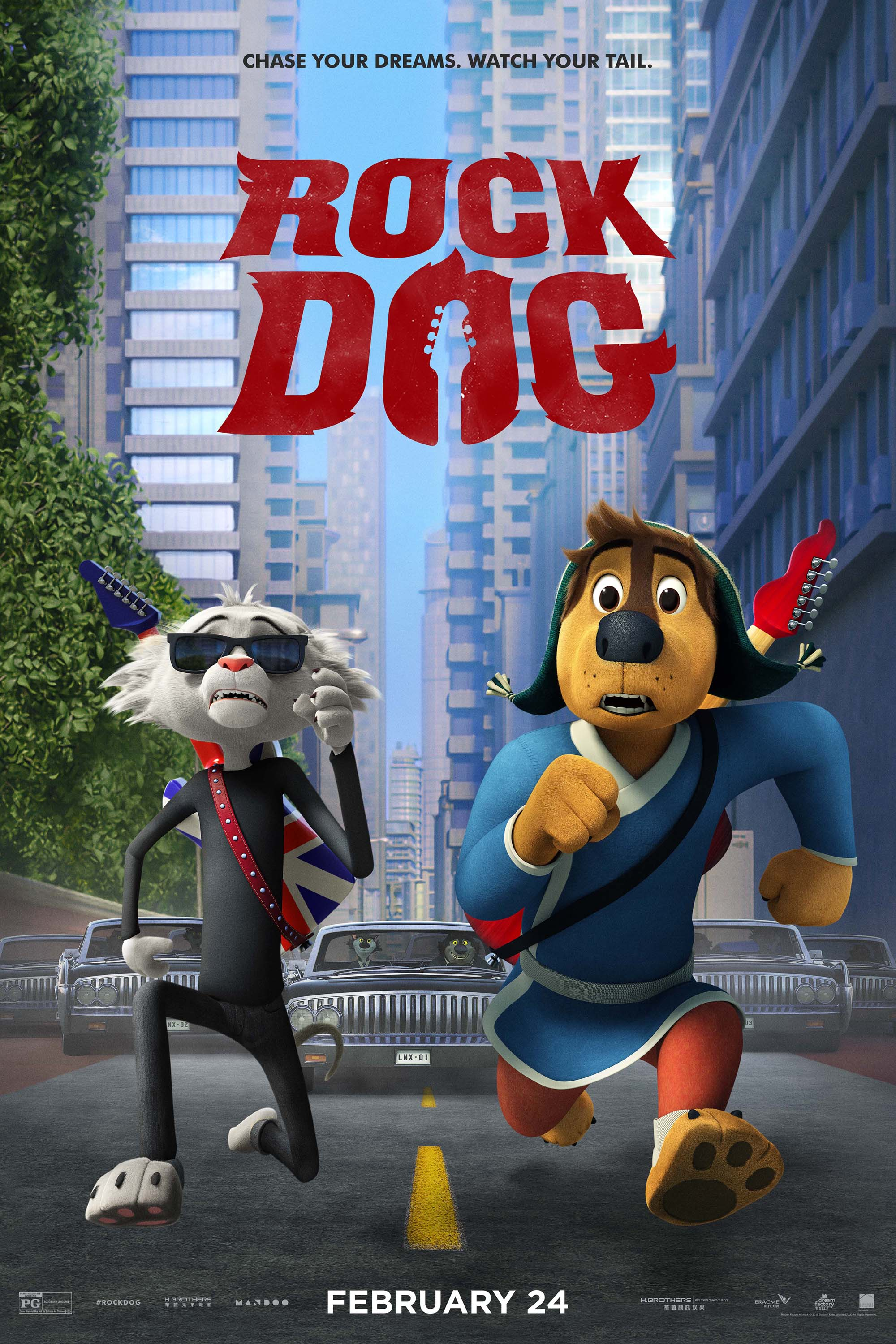 Poster for Rock Dog