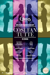 Opera national de Paris: Così fan tutte Poster