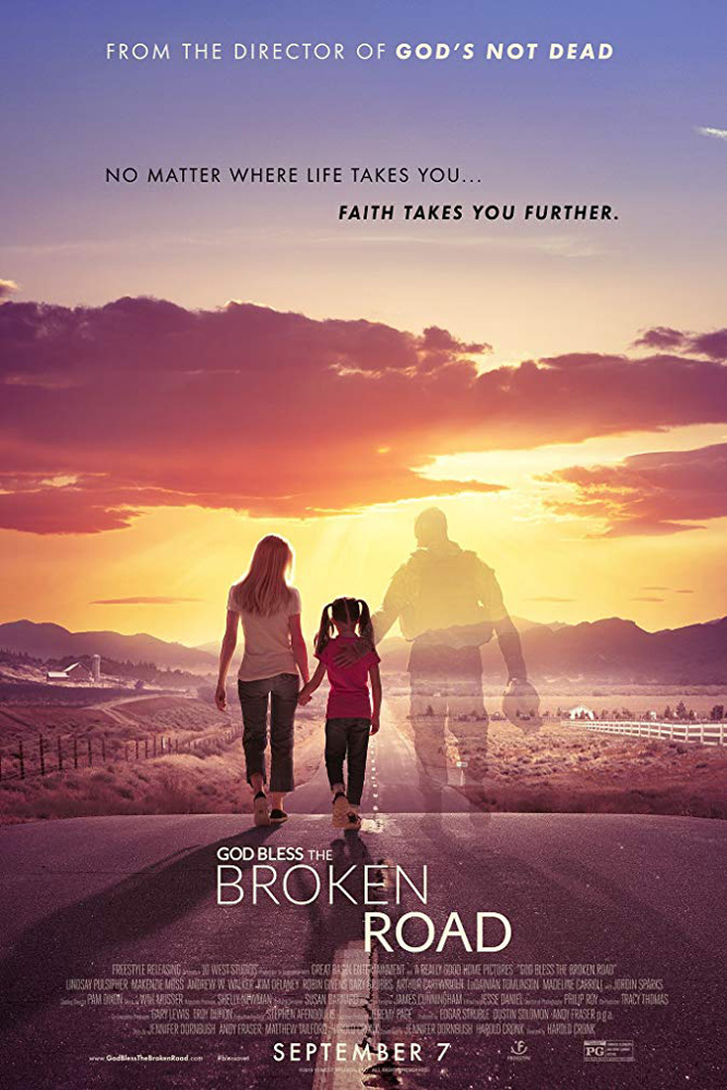 Poster for God Bless the Broken Road