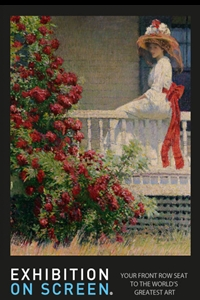 Exhibition on Screen: The Artists Garden: American Impressionism Poster