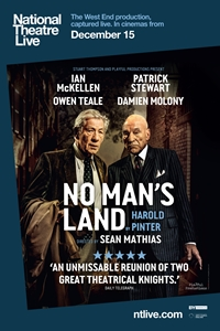 Poster for National Theatre Live: No Man's Land