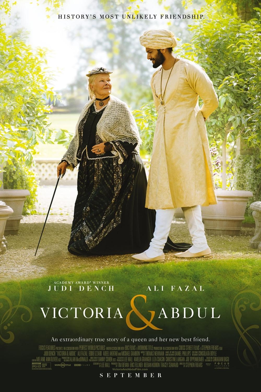 Poster for Victoria & Abdul