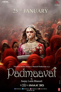 Poster for Padmaavat (Padmavati) (Hindi)