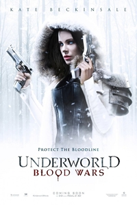 Underworld: Blood Wars 3D Poster