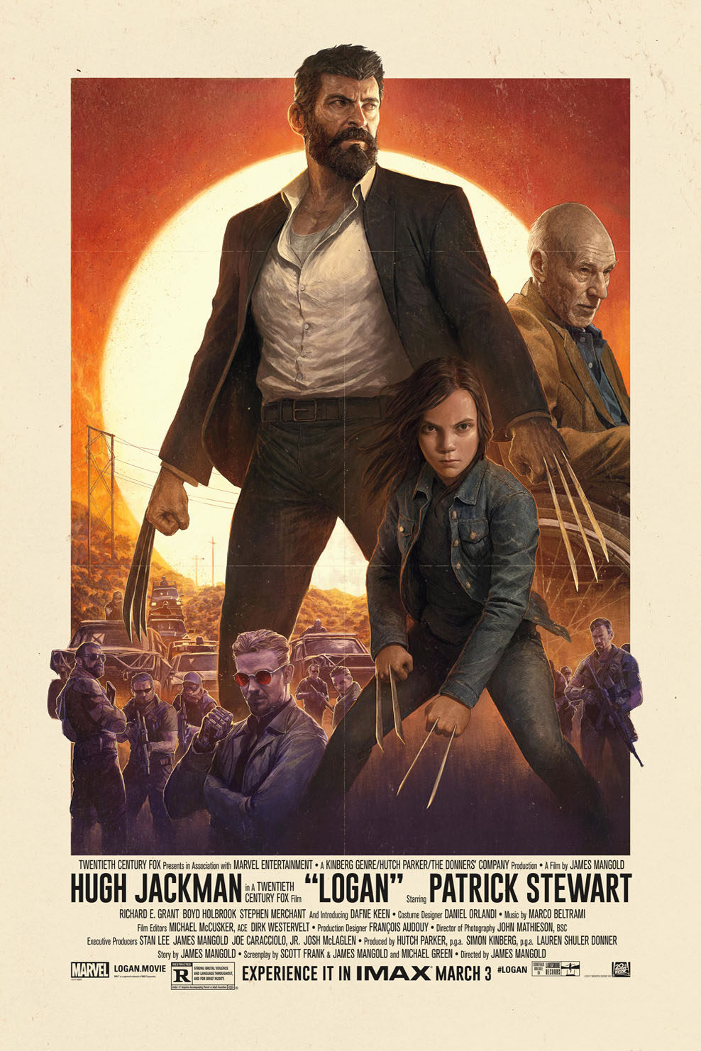 Poster for Logan: The IMAX 2D Experience