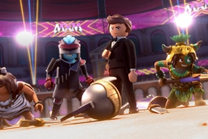 Playmobil: The Movie cast photo