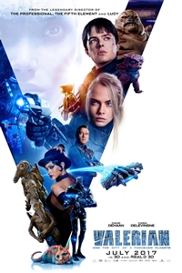 Poster of Valerian and the City of a Thousand Planets 3D