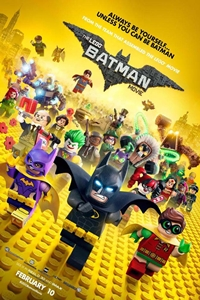 Poster for The Lego Batman Movie 3D