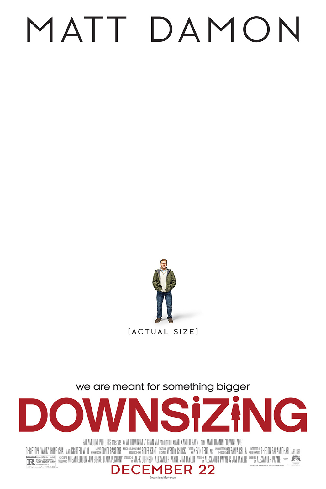 Poster for Downsizing