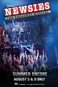 Disney's Newsies: The Broadway Musical! Poster