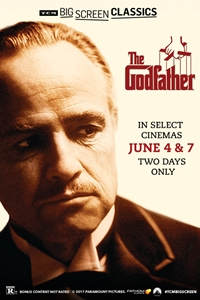 Poster of The Godfather (1972) presented by TCM...