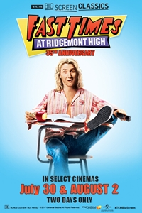 Poster of Fast Times at Ridgemont High (1982) presented by TCM
