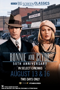 Poster of Bonnie and Clyde 50th Anniversary (19...