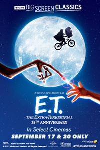 Poster of E.T. The Extra-Terrestrial (1982) presented by TCM