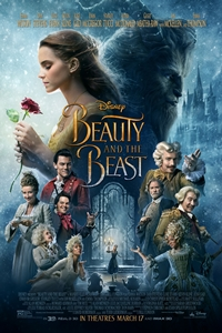 Beauty and the Beast in Disney Digital 3D Poster