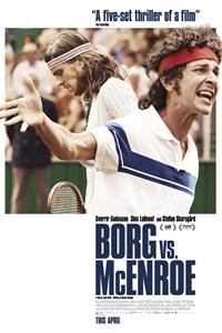 Poster for Borg vs. McEnroe