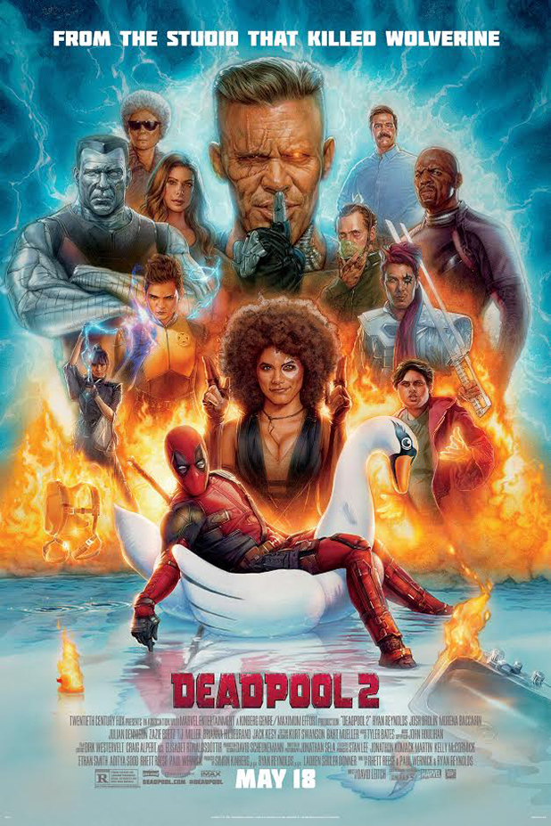 Poster for Deadpool 2