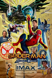 Poster of Spider-Man: Homecoming An IMAX 3D Exp...