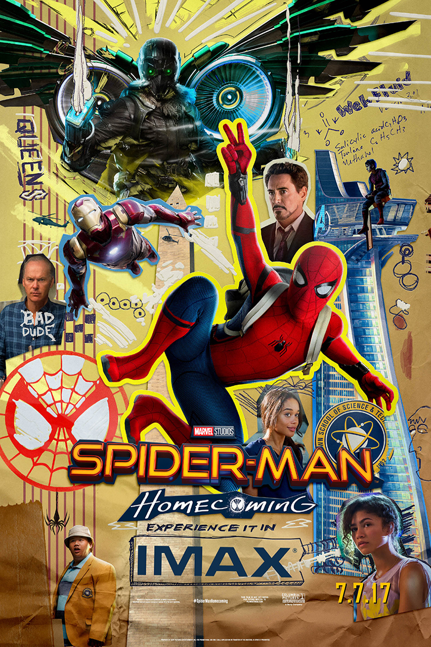Poster for Spider-Man: Homecoming An IMAX 3D Experience