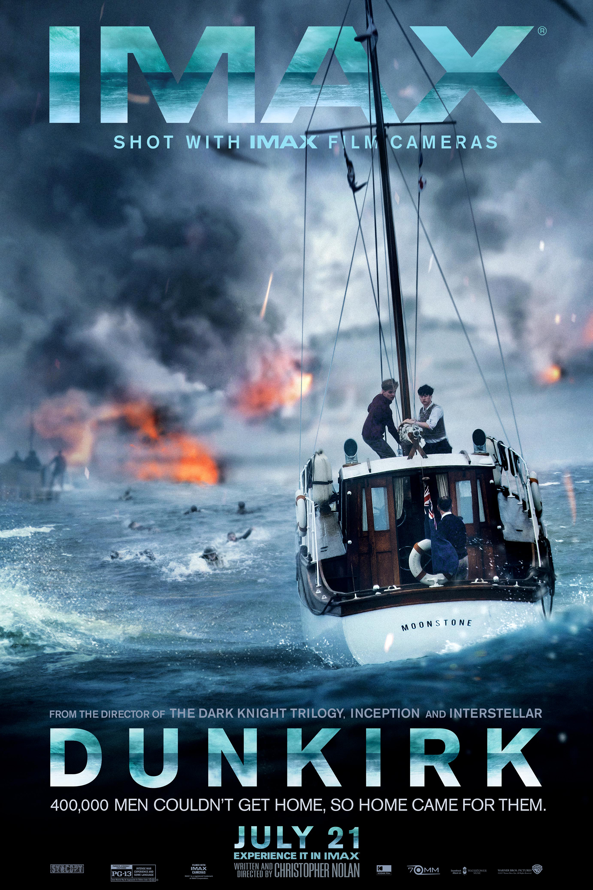 Poster for Dunkirk: The IMAX 2D Experience