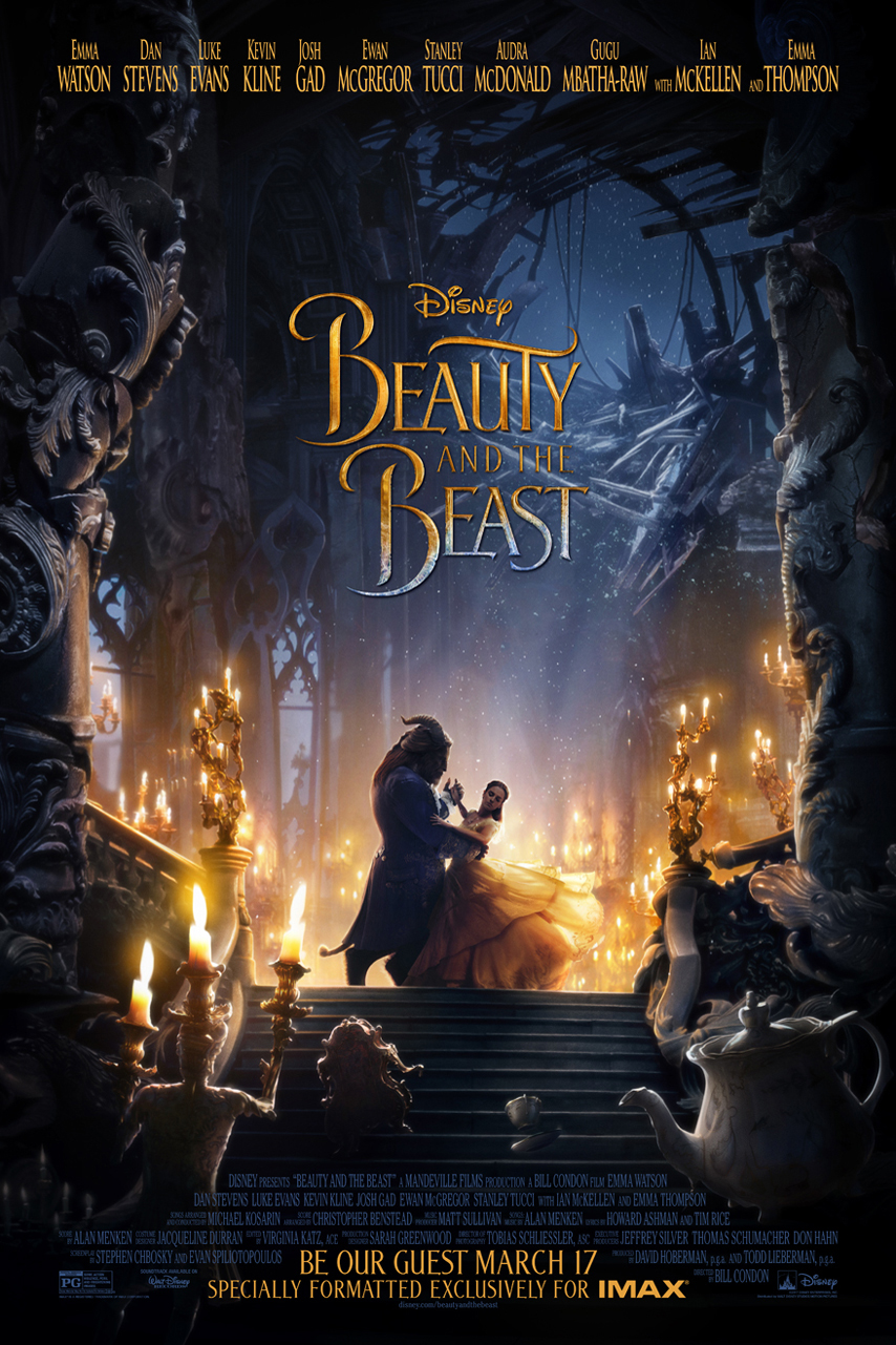 Poster for Beauty and the Beast: The IMAX Experience