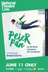National Theatre Live: Peter Pan Poster