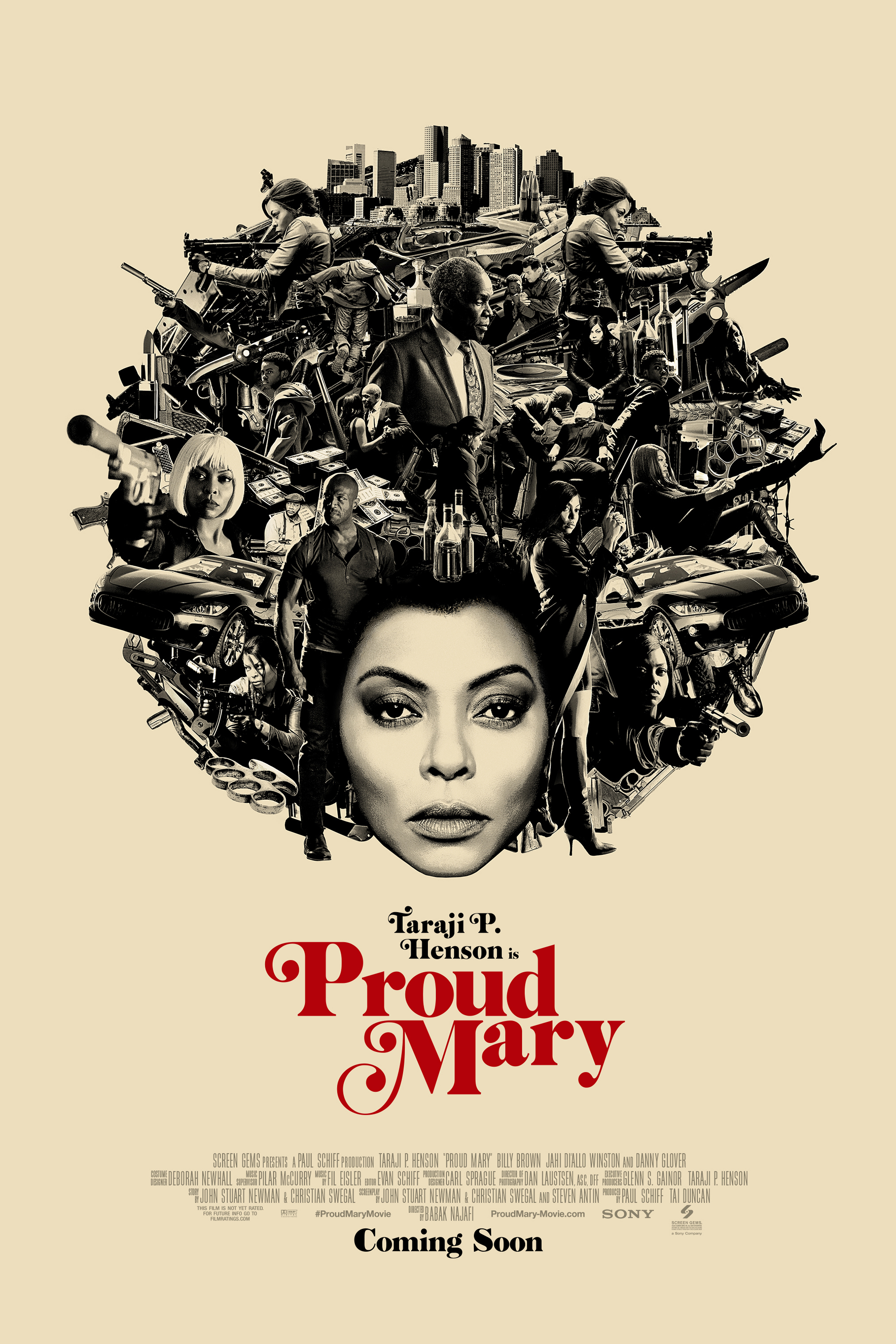Poster ofProud Mary