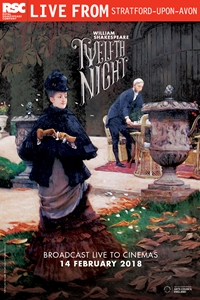 Royal Shakespeare Company: Twelfth Night Poster