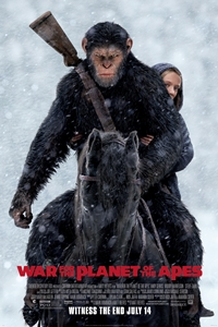 Poster of War for the Planet of the Apes 3D