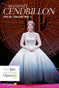 Poster for The Metropolitan Opera: Cendrillon