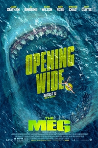 The Meg in 3D Poster